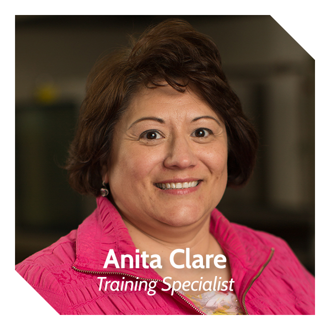 Anita Clare, Training & Recruiting Specialist