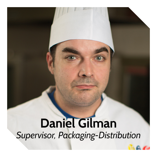Daniel Gilman, Supervisor, Packaging-Distribution