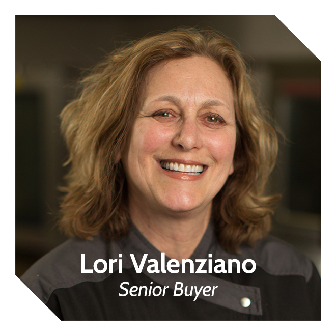 Lori Valenziano, Senior Buyer