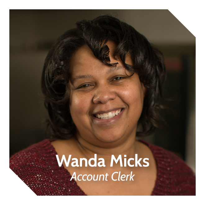 Wanda Micks, Account Clerk
